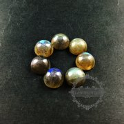 3pcs 10mm round labradorite cabochon semi precious loose stone gemstone DIY earrings rings pendant charm cabochon 4110114