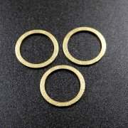 100pcs 20mm raw brass watch face mark loop charm DIY jewelry supplies findings 1800337