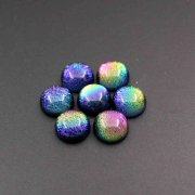 1pcs 16MM Half Dome Glass Color Change Imitation Gems Cabochon for DIY Ring Settings Jewelry Supplies 4110155