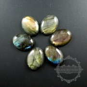 1pcs 22x30mm labradorite shining oval cabochon special jewelry findings supplies for ring DIY pendant charm 4120105