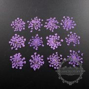 1 small packs purple real dry pressed flower craft for DIY glass dome resin filling 1503112