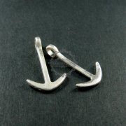 12pcs 18x30mm vintage antiqued silver alloy anchor DIY pendant charm jewelry supplies 1830027